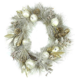 Contemporary Wreaths And Garlands by Northlight Seasonal