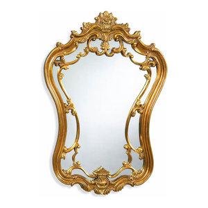 Hermosa Wall Mirror, Gold Leaf Finish