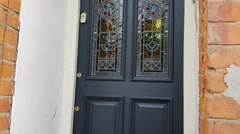Stained Glass Bespoke Front Door