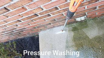 Pressure Washing Walkway