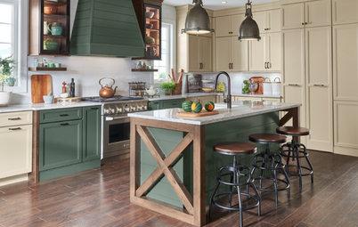 Просто фото: Кухни в три цвета — 22  примера
