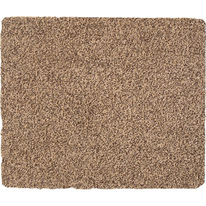 Extra Large Solid Cotton Rug, Beige, 150x90 cm