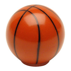 Cosmas Athleticz Collection 67123 Basketball Round Cabinet Knob, Set of 5