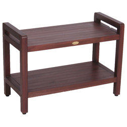 Transitional Shower Benches & Seats by DecoTeak