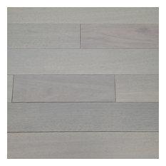 "Brazilian Oak Prefinished Solid Hardwood Flooring 3/4"" x 1'-6' RL x 5"" Sky Grey"