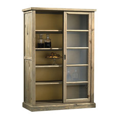 Pepe Aged Pine Display Cabinet