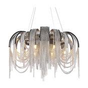 "24"" Chain Tassel LED Chandelier By Morsale"