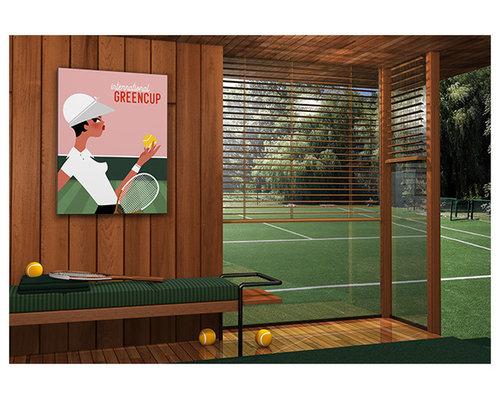 Tableau déco Tennis Wimbledon - Imprimé et Poster