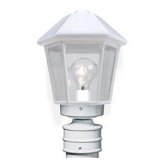 Costaluz 3272 Series Post Light, White