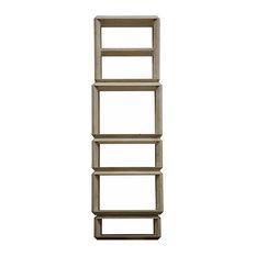 Reclaimed Lumber Anton Bookcase, Tall
