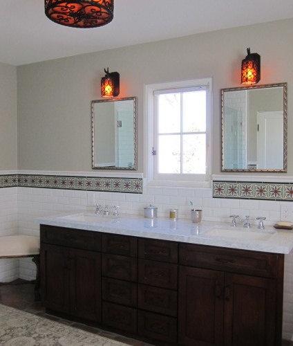 Spanish Style Bathroom Houzz