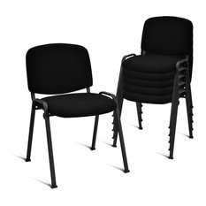 Costway Set of 5 Conference Chair Elegant Design Office Waiting Room Reception