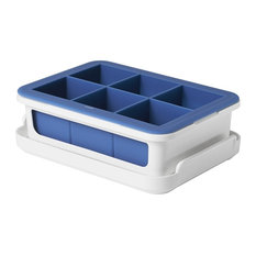 Oxo Good Grips Covered Silicone Ice Cube Tray, Blue
