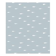 Lola Daydream Grey PVC Tablecloth, 140x250cm