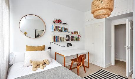 Parecidos razonables: 2 dormitorios juveniles cálidos y luminosos