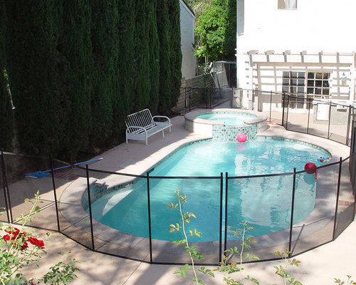 swimming pool fence photos