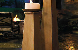 Tapered Column Candleholders