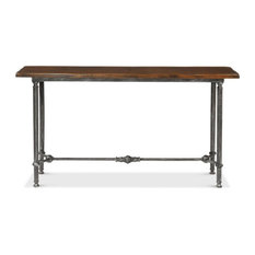 Bia Lodge Console Table Natural Fnsh