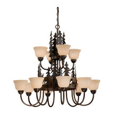rustic crystal chandelier bronze vaxcel ch55412bbz bryce 12light chandelier burnished bronze chandeliers 50 most popular rustic crystal for 2018 houzz