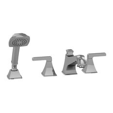 Toto Tb221S-Cp Connelly Four-Hole Roman Bathtub Filler Trim With Hand Shower