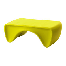 Goby Coffee Table, Chartreuse