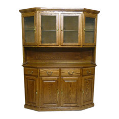 Traditional Angled Buffet (Hutch Sold Separately)