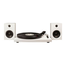 T100 Winston Turntable With Speakers