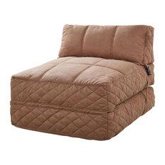 gold sparrow austin bean bag chair bed cobblestone sleeper chairs