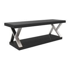 "Ryan Rove Hayden Double V Design 60"" Modern Universal TV Stand"
