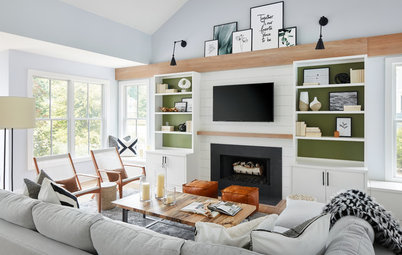 Houzz Tour: Nature-Inspired Refresh for a Lakeside Retreat