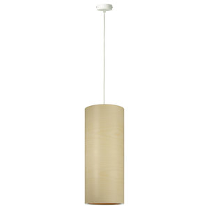 Funk Green Pendant Lamp, Tall, Maple