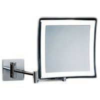 Smile 850 Hard Wired Wall Mounted Magnifying Mirror 5x