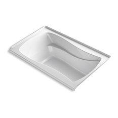 "Kohler Mariposa 60"" X 36"" Alcove Bath w/ Right-Hand Drain, White"