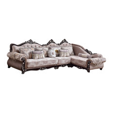 Meridian Furniture - Valentino 3 Piece Sectional - Sectional Sofas  sc 1 st  Houzz : houzz sectionals - Sectionals, Sofas & Couches