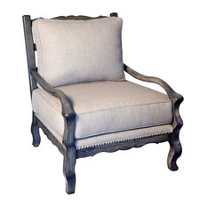 729LC Lounge Chair Off White