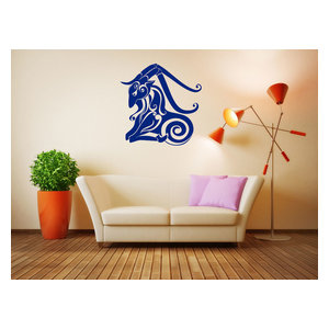 Angel On The Moon Wall Decal Contemporary Wall