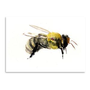 """""""Bumblebee 1,"""" Art Print, 12""""x16""""x0.1"""""""