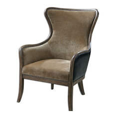 MOD - Hanson Wingback Chair - Armchairs and Accent Chairs