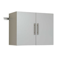 "HangUps 30"" Upper Storage Cabinet, Light Gray"