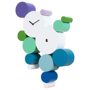 Cucuball Cuckoo Clock, Cold Colours