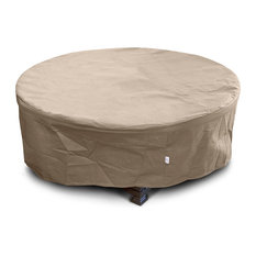 "KoverRoos III Large Firepit Cover, Taupe, 45""x45""x21"""