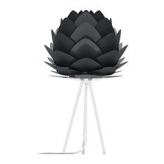 Aluvia Table Lamp, Anthracite/White