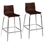 Cabe Counter Stools Set Of 2 Midcentury Bar Stools