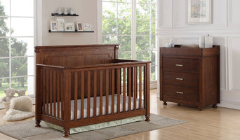 Bristol 4-1 Convertible Crib with 3 Drawer Chest