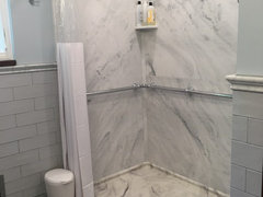 How Do You Feel About Solid Surface Corian Shower Walls