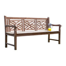 Teak outdoor chairs asian style