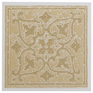 Mediterranean Mosaic Tile Stencil for DIY Projects, - Contemporary