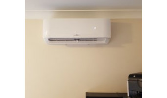 Split system air conditioners