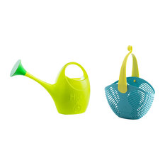2-Piece Gardening Set, Green