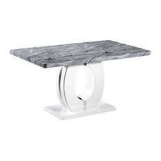 Verona Marble-Effect Dining Table